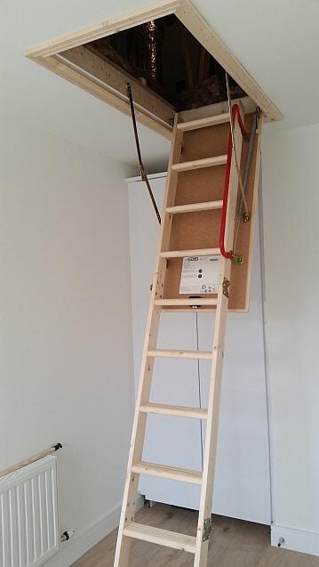 Attic Ladder, Dublin