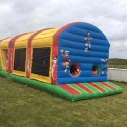 Inflatables Obstacle Course, Galway