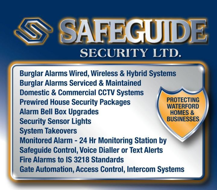 Safeguide Security Wexford Kilkenny Tipperary