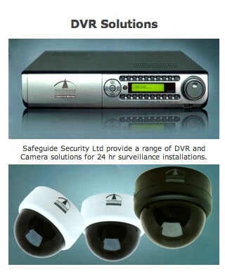 DVR Security Solutions South East Ireland