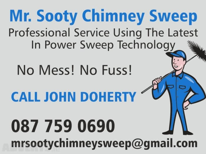 Mr Sooty Chimney Sweep Kildare Dublin