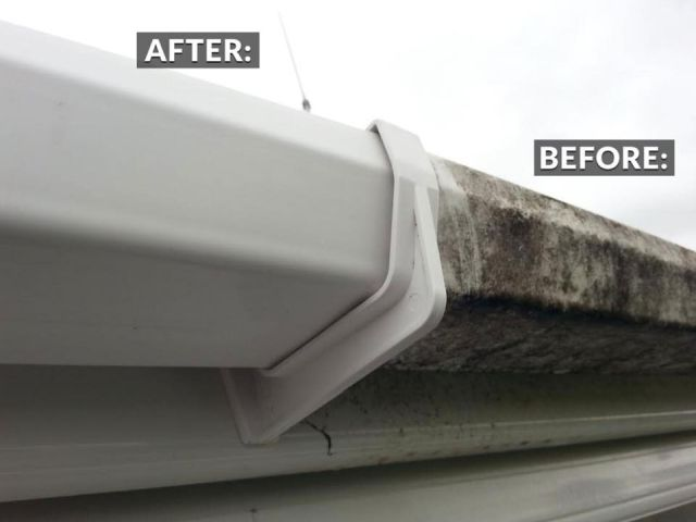 Fascia Cleaning Gutter Clearing Cork