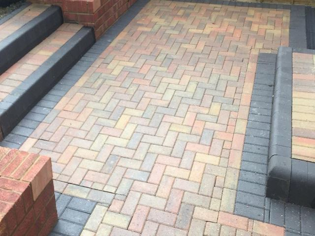 Laying Patio Paving Cleaning Cork
