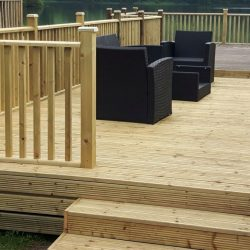Wooden Decking Patio Cavan Longford