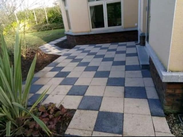Slab Paved Patio Meath