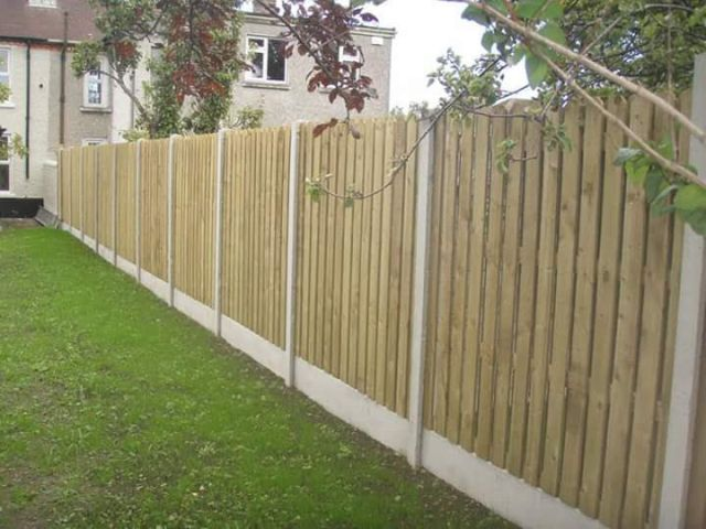 Wooden Garden Fence Waterford