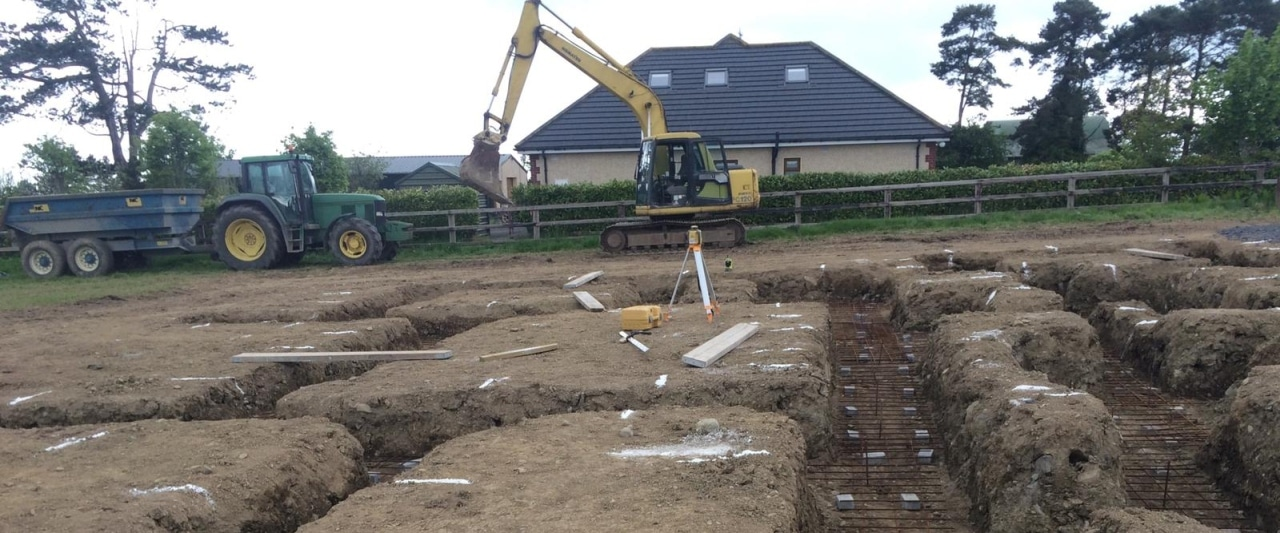 Plant Hire Kildare Groundworks Foundations