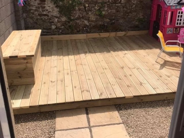Wooden Decking and Patio Cork