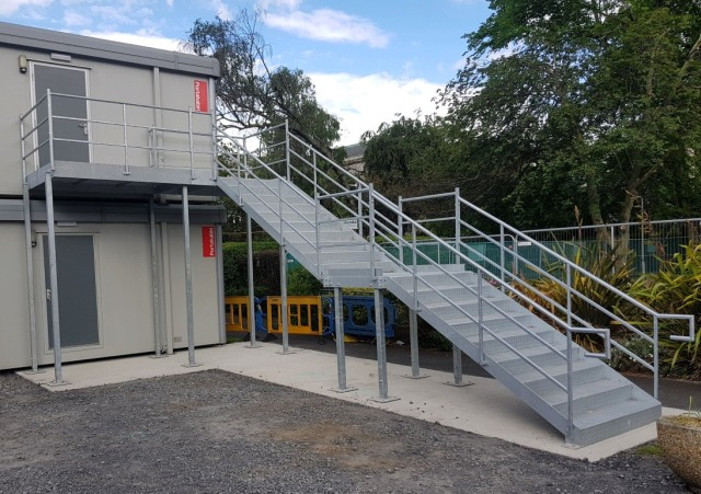 Exterior Steel Staircase Manufacture Cork