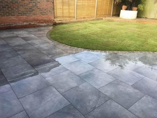 Slab and Brick Paved Patio Waterford Kilkenny Wexford