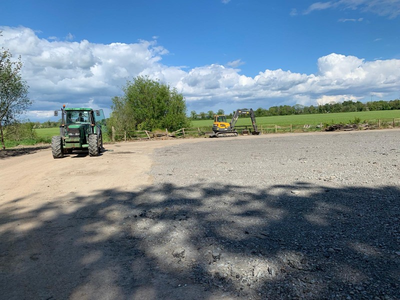 Kildare Site Clearance, Groundworks and Plant hire