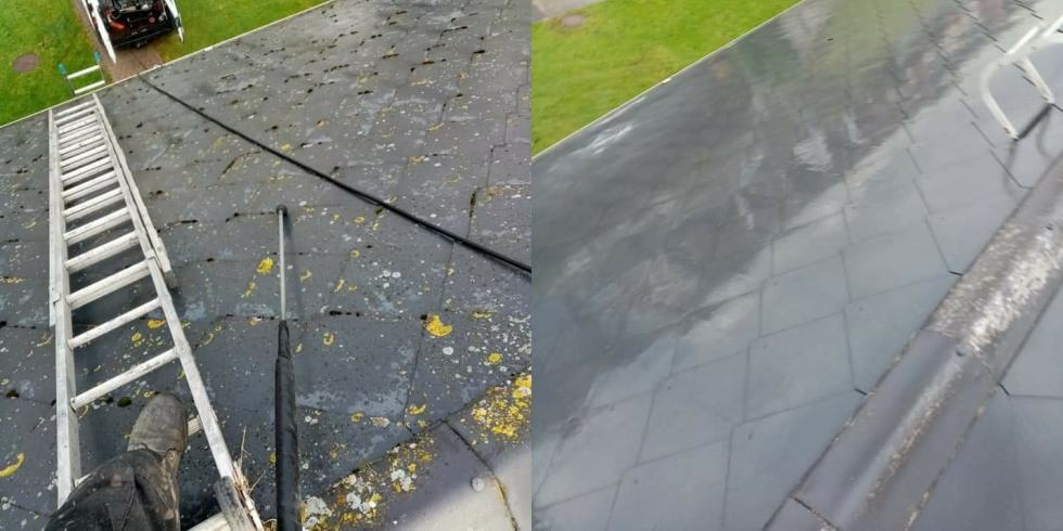 Expert Roof Cleaning, Moss Removal - Advanced Gardening Service - Wexford, Waterford, Kilkenny