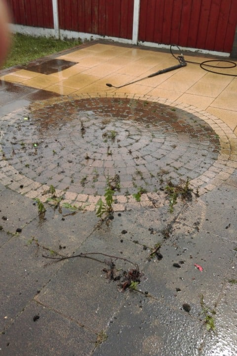 Power Washing Patio Cleaning - Advanced Gardening Service Wexford Waterford Kilkenny