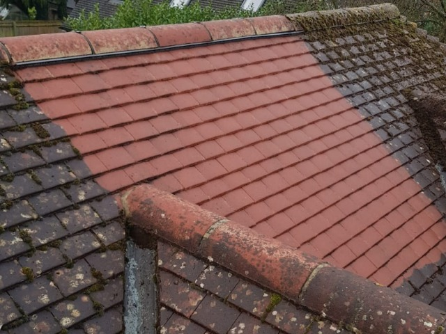 High Pressure Roof Cleaning and Moss Removal - Murphys Nationwide Power Washing and Gardening
