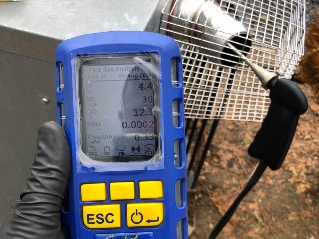 Oil Boiler Flue Analyser - Elite Boiler Services Galway